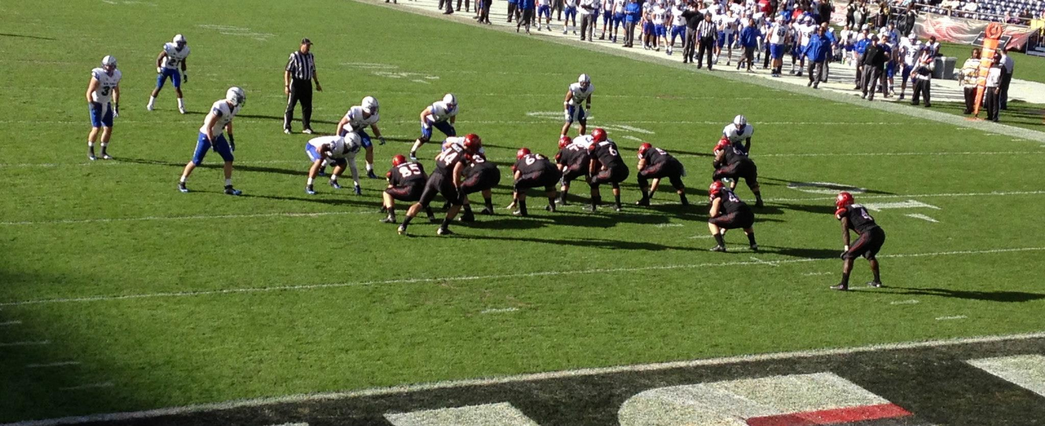 at The San Diego State vs