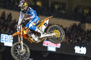 Red Bull AMA Supercross/Motocross Athlete Ryan Dungey in Anaheim(Photo Credit: Red Bull USA)