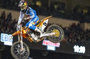 Red Bull AMA Supercross/Motocross Athlete Ryan Dungey in Anaheim(Photo Credit: Red Bull USA)