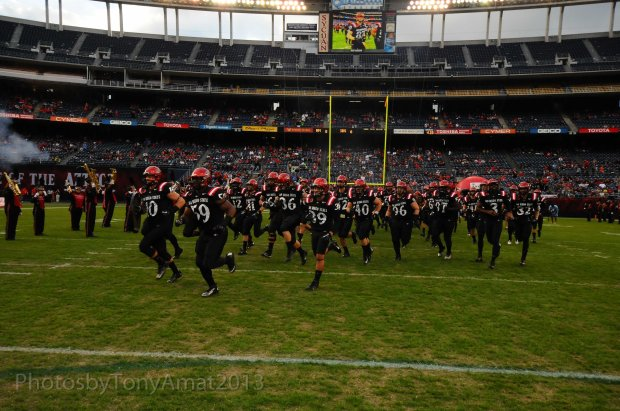 37 days until the Aztecs kickoff season against NAU. Photo Credit: Tony Amat
