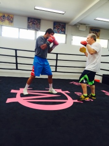 Kilic getting lessons from Freddie Roach