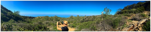 View of PARRY GROVE TRAIL in the Torrey Pines State Natural Reserve. Mandatory Photo Credit David Frerker