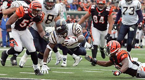 (November 12th, 2006, Chargers at Cincinnati) // USATODAY