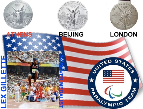 Exclusive Interview with 3 time USA Paralympic Silver Medalist LexGillette