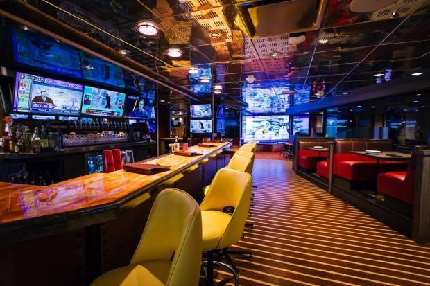 Striders Upstairs Bar