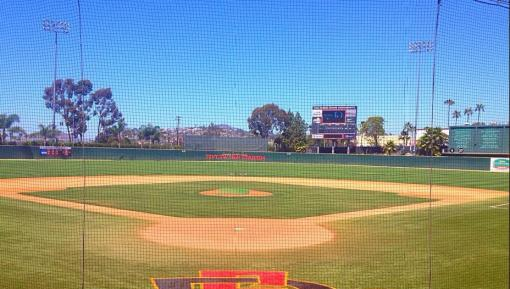 Tony Gwynn Stadium on the Campus of San Diego State University. Mandatory Photo Credit: David Frerker