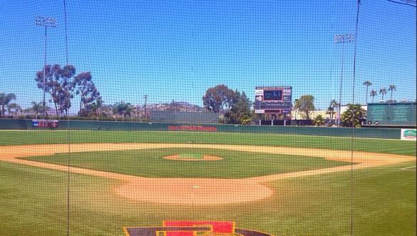 Tony Gwynn Stadium on the Campus of San Diego State University. Mandatory Photo Credit: David Frerker