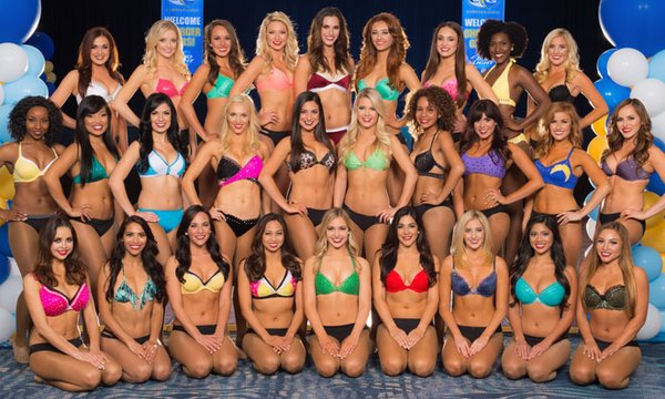 2016 San Diego Chargers Girls: Mandatory Photo Credit: San Diego Chargers