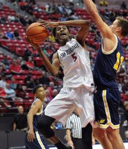 Freshman F Jalen McDaniels (via Ernie Anderson/goaztecs.com)
