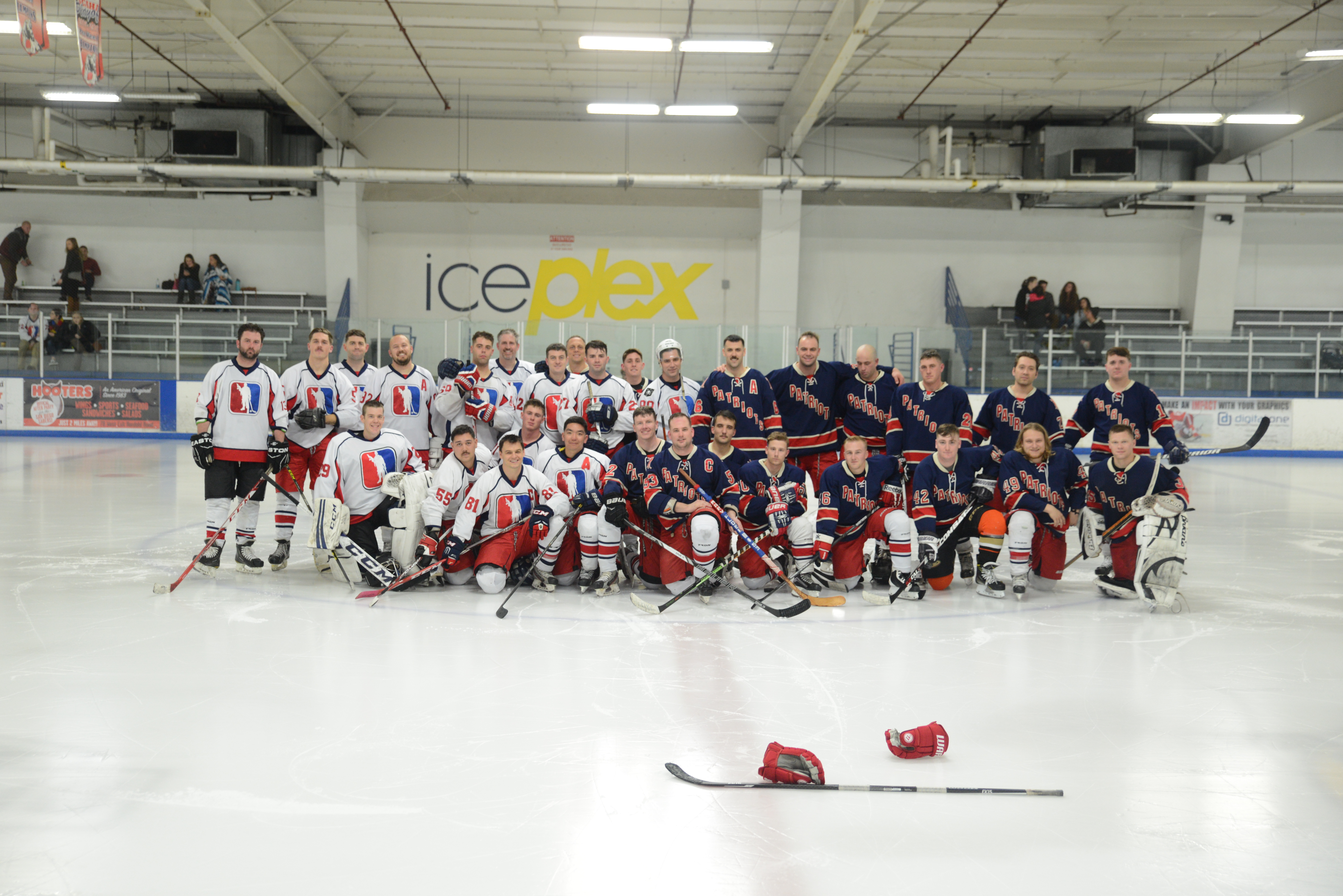 2017 Patriots Hockey All Star Game San Diego Sports Domination