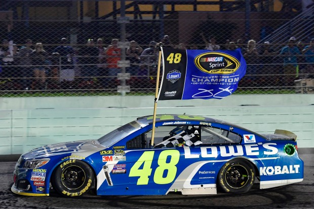 18-20 November, 2016, Homestead, Florida USA Jimmie Johnson ©2016, Logan Whitton NKP