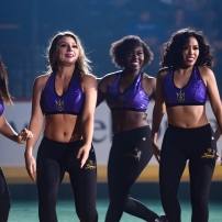 San Diego Sirens Dance Team, San Diego Seals vs Toronto Rock@ Pechanga Arena San Diego December 14, 2019