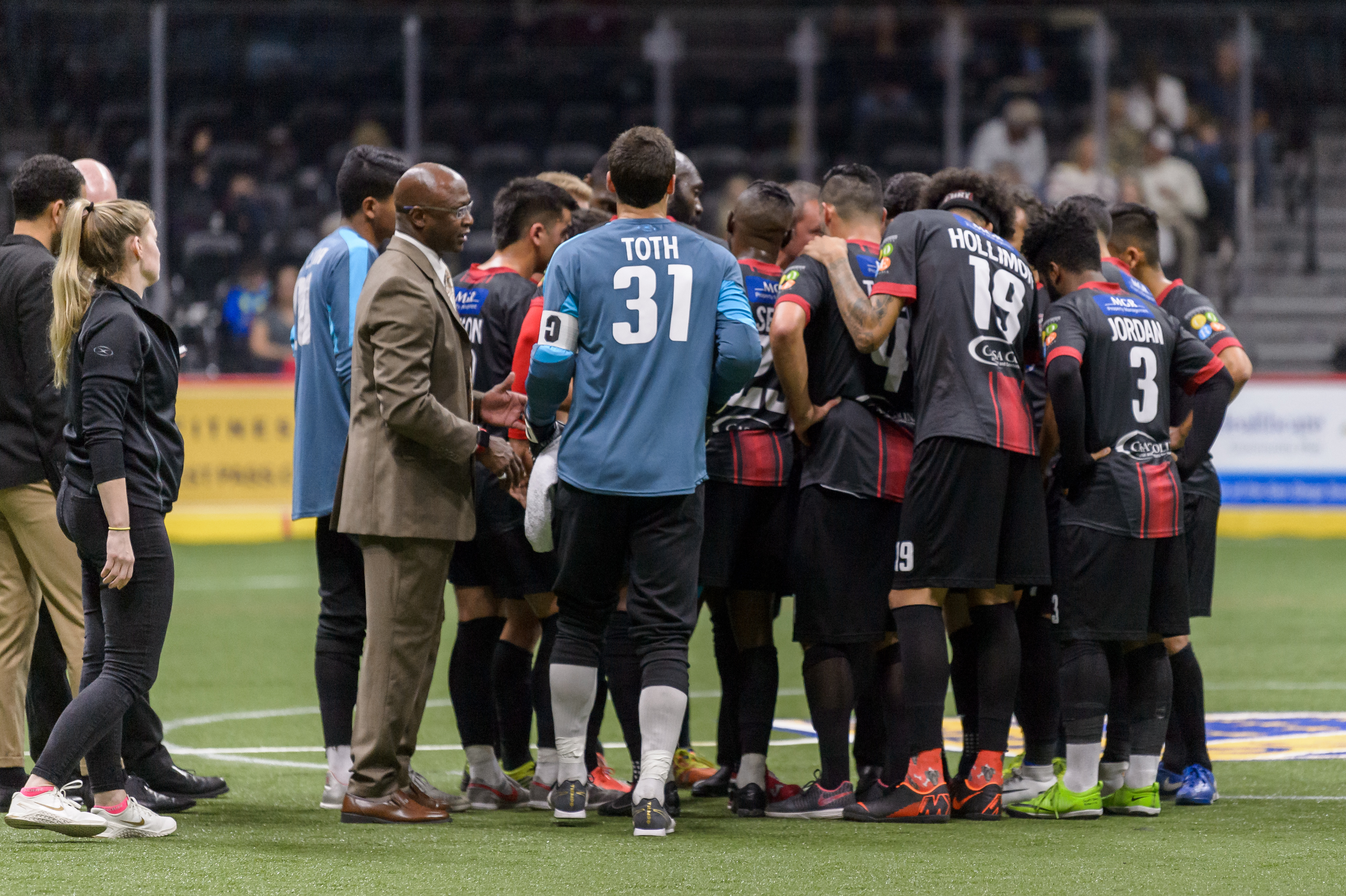 San Diego Sockers vs Ontario Fury